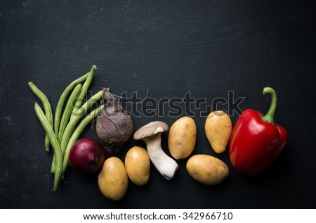 Fall seasonal vegetable - stock photo