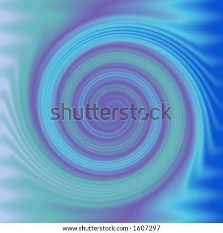 Falling into the waves - stock photo
