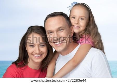 Family, Happiness, Cheerful. - stock photo