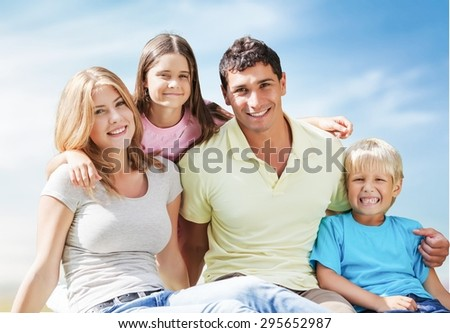 Family, House, Residential Structure.