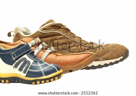 family of shoes - stock photo