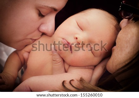 family passion - stock photo