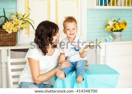Step Mom Congratulates Son