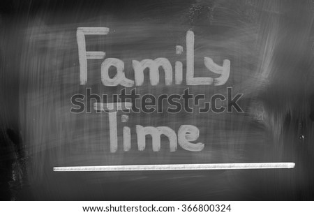 Family Time Concept