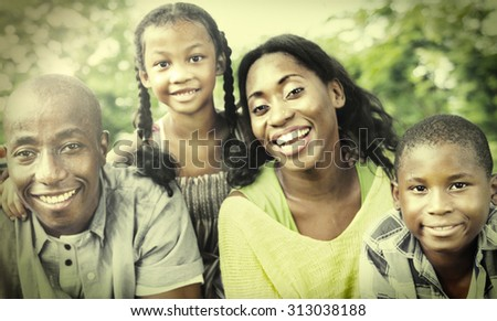 Family Togetherness Unity Parents Son Concept - stock photo