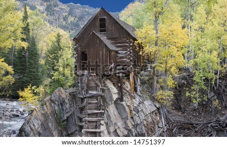 Famous Crystal Mill - stock photo