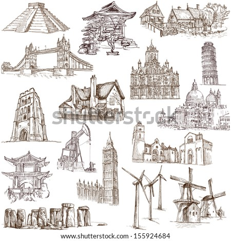 Famous Places Buildings And Architecture Around The World Set No 3