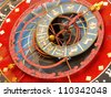 Famous Zytglogge zodiacal clock in Bern, Switzerland - stock photo