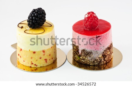 fancy cake - stock photo
