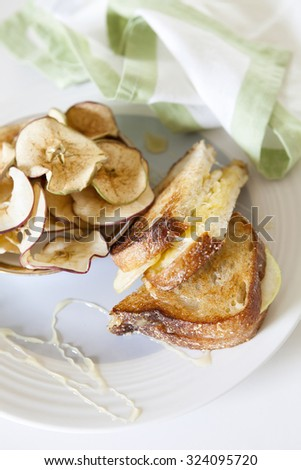 Fancy Grilled Cheese Sandwich - stock photo