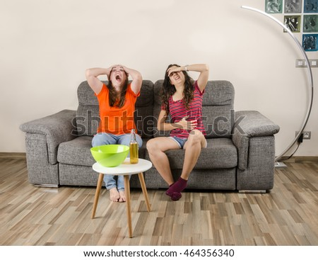 Living Room With Tv And People family watching tv living room stock photo 495040519 - shutterstock