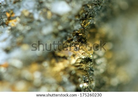 Fantastic background , gold metal (big collection)  - stock photo