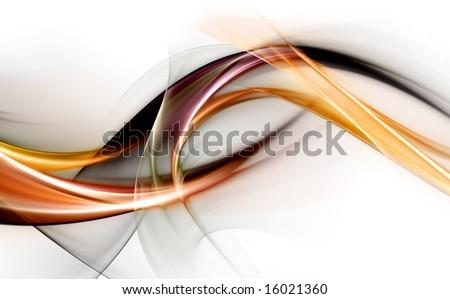 Fantastic Fractal Design - stock photo