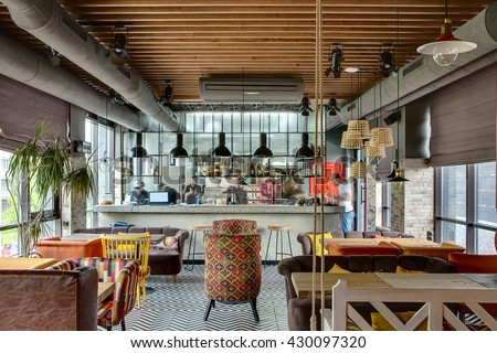 Restaurant Open Kitchen open kitchen restaurant stock images, royalty-free images