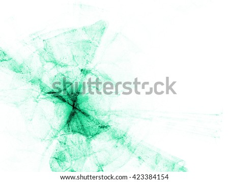 fantasy green line weave gradient colored background - stock photo