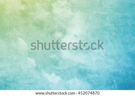 fantasy sky abstract background with grunge texture - stock photo