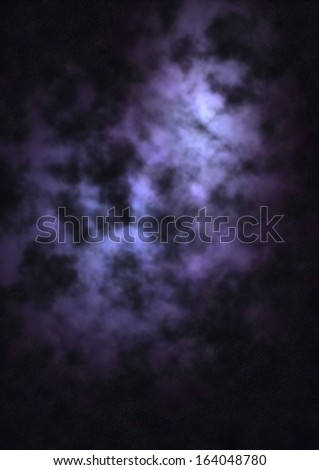 Far being shone nebula and star field against space. Elements - stock photo