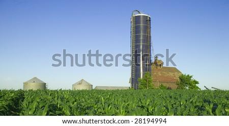 Farm Land - stock photo