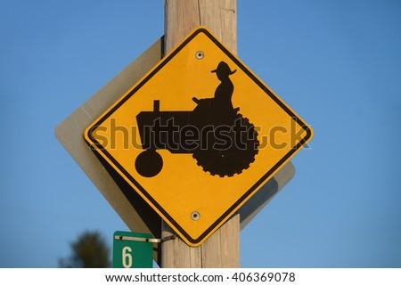Farmer sign - stock photo