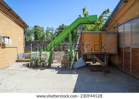 Farmer tools - stock photo