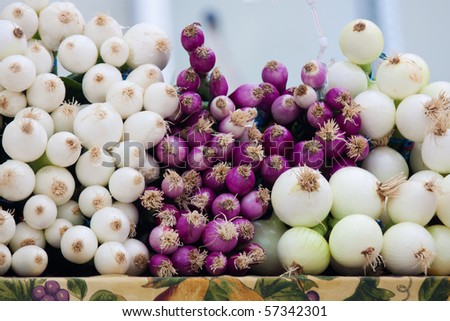Farmers Market Fresh Vegetables - stock photo