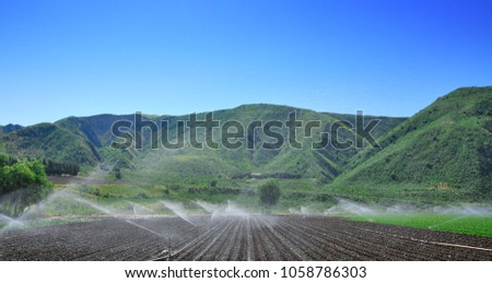 Farming, Auto irrigation system
