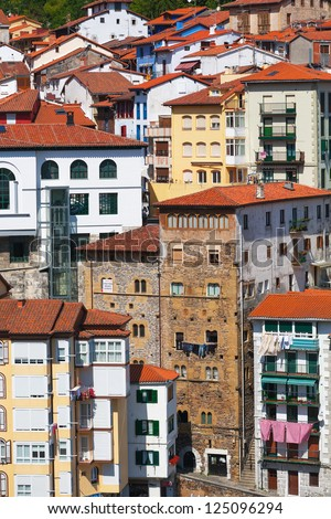 Fascade Of Building,  the Basque country, Spaine