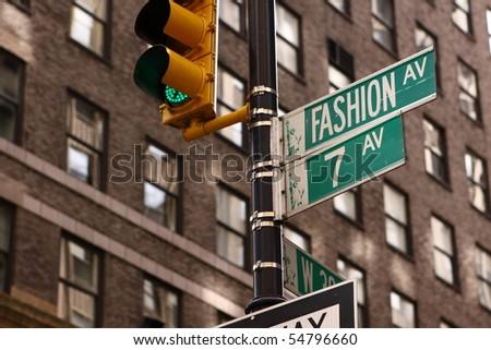 Fashion Aveune - stock photo