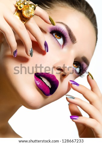Makeup Model Stock Images Royalty Free Images Vectors