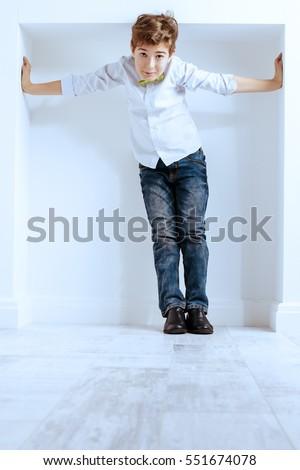 Child Sitting On Toilet Stock Photo 123005692 Shutterstock