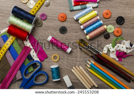 fashion designer accessories - stock photo