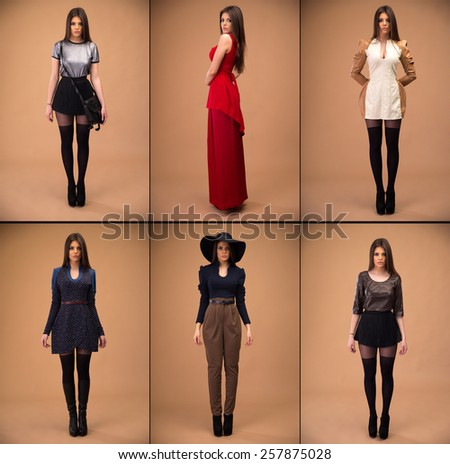 Fashion designer collection - stock photo
