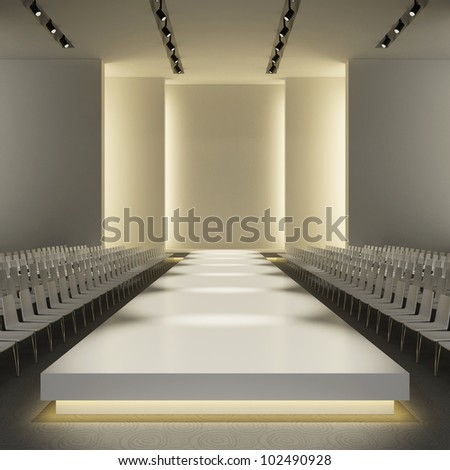 Empty Catwalk Stock Images Royalty Free Images Amp Vectors