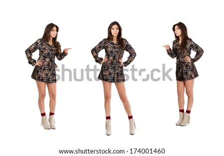 fashion jealousy - stock photo