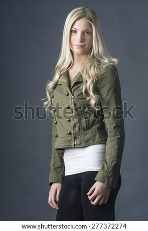 Fashion leggings - stock photo