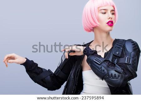 Fashion portrait - stock photo