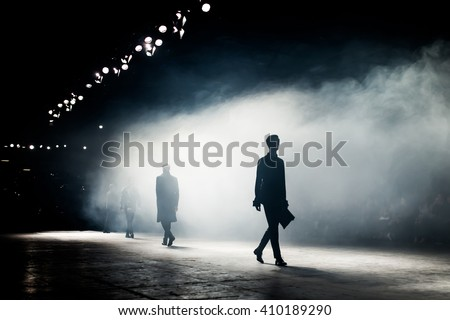 Fashion Show, A Catwalk Event - stock photo