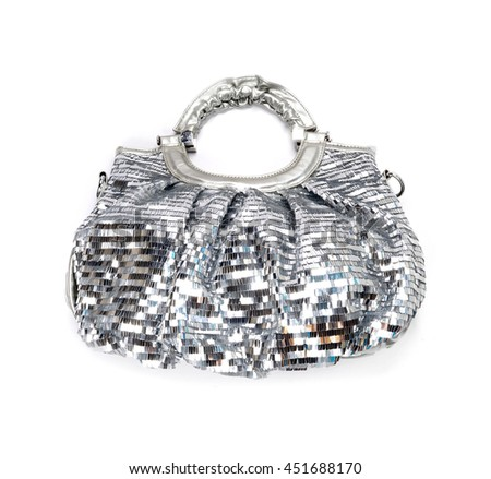 Fashion silver bag