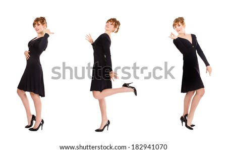 fashionable sketch - stock photo