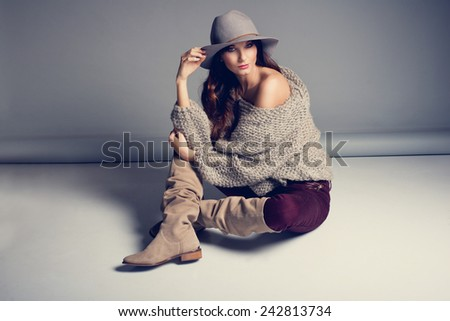stock photo woman clothes