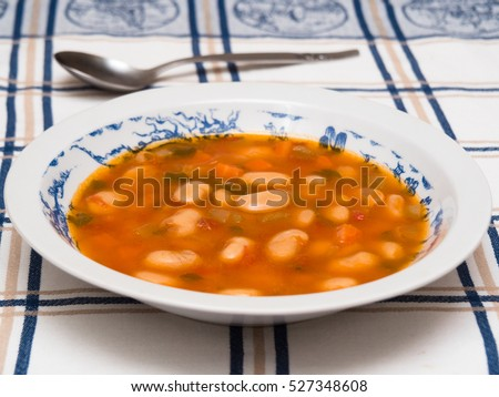 Fasoulada - Greek bean soup