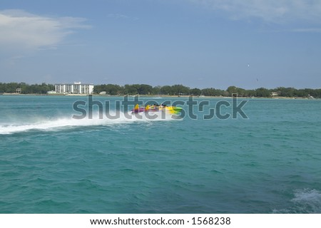 fast boat in the gulf