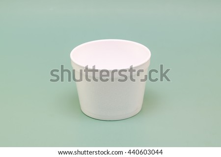 fast food container container for hot food - stock photo