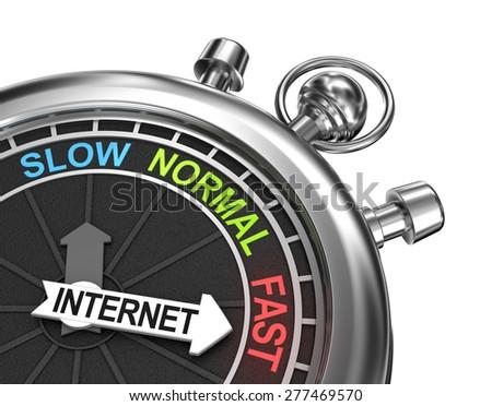 Fast internet concept - stock photo