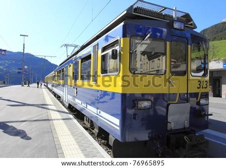 Fast Modern Passenger Speed - stock photo