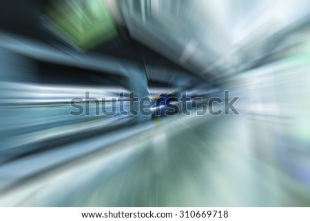 fast train passing by,speed motion blur background,traveling and transportation background