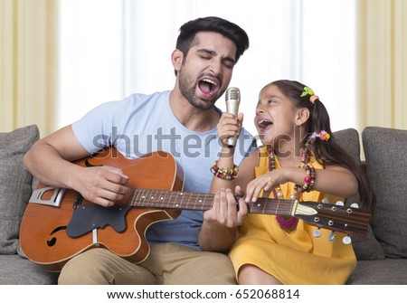 Portrait Father Daughter Stock Photo 299190269 - Shutterstock