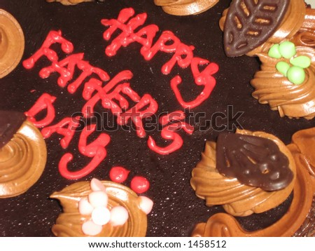 father's day celebration - stock photo