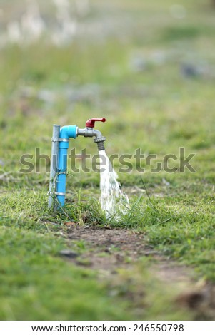 Faucets - stock photo