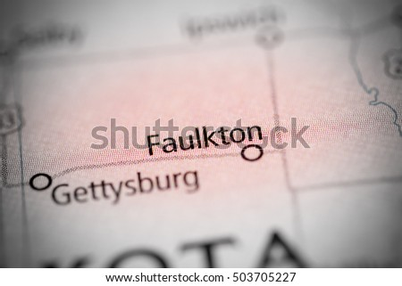 Faulkton. South Dakota. USA